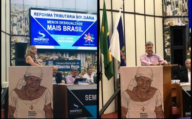 Aconteceu no dia 11 de maio de 2019, o Seminário Estadual Conta a Reforma da Previdência, em Ribeirão Preto-SP.
