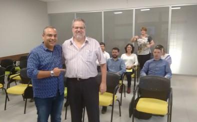 Segundo dia de visitas ao interior de São Paulo pelo Jurídico da DEN